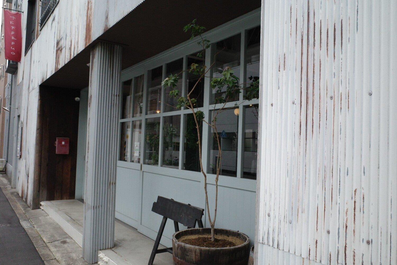 『fukadaso cafe』の入り口はこちら。
