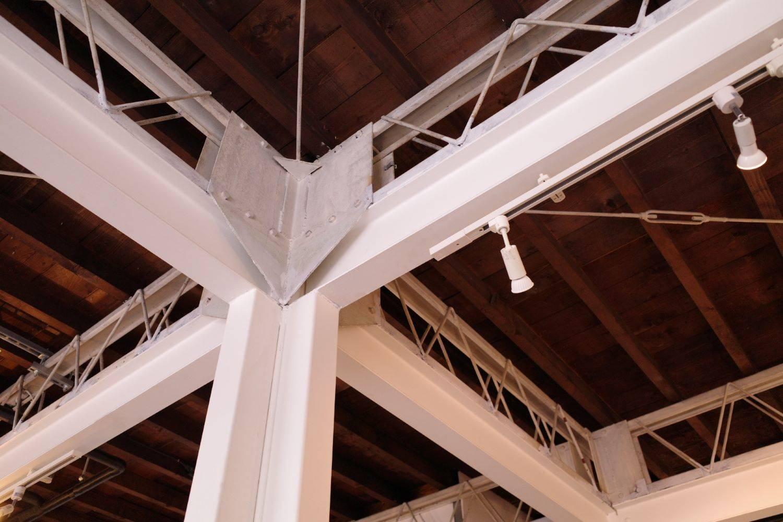 天井にも注目。