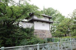 高崎城址の乾櫓