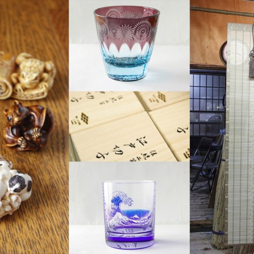 根付彫刻、江戸スダレ、砂切子……伝統あり、現代ありの妙。深川の街にひそむ職人技を見よ!