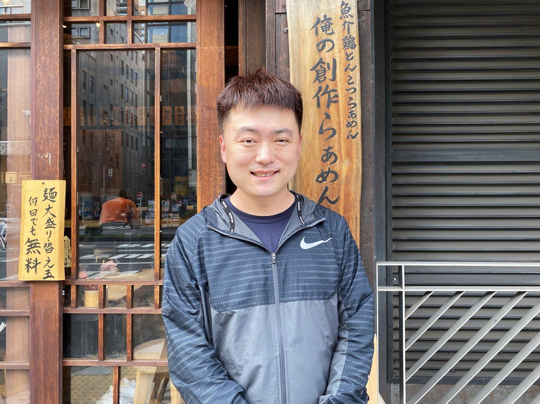 店長の安田健平さん。