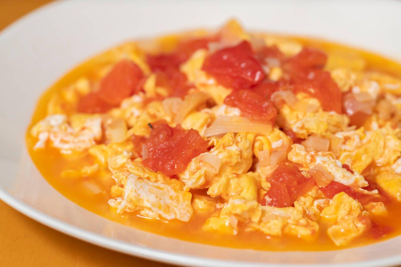 台湾菜番茄炒蛋4