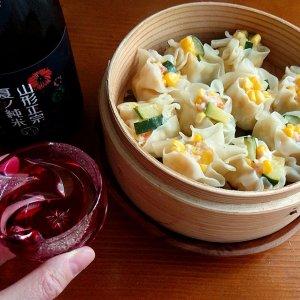 夏野菜とエビのシュウマイに「山形正宗(夏酒)」 〜自由な発想から生み出される暑い夏に飲みたい日本酒の話〜
