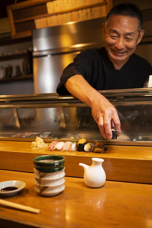 「釣り旅から、おかえりなさい! うちのお寿司でごゆっくり。」