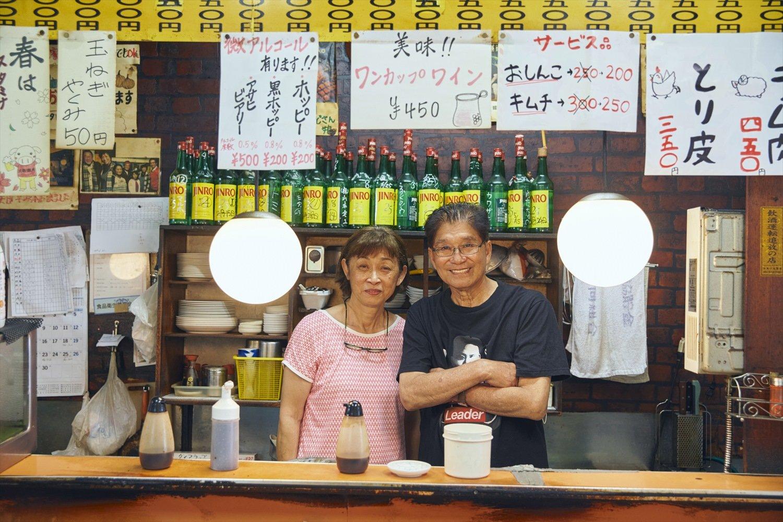 創業者である小原昭人さんのこの笑顔よ。長年連れ添う奥様もここにほれたに違いない。