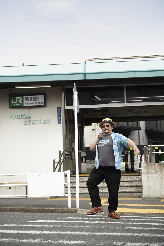 香川駅前の「熊澤屋」は跡形もなくなったが、毎週『ジャンプ』を買った書店『江南堂』は健在。『散歩の達人』も毎月入荷!