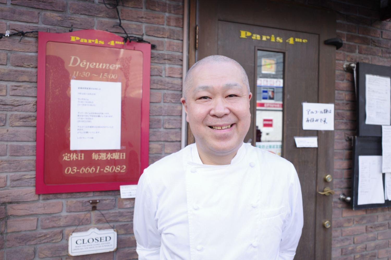 三ツ星レストランの『L'Ambroisie(ランブロワージ)』が大好きだという川久保さん。『L'Ambroisie』はフランスのパリ4区にある。