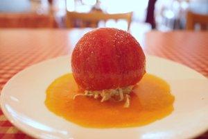 板橋ランチ_AIDA_トマトのサラダ