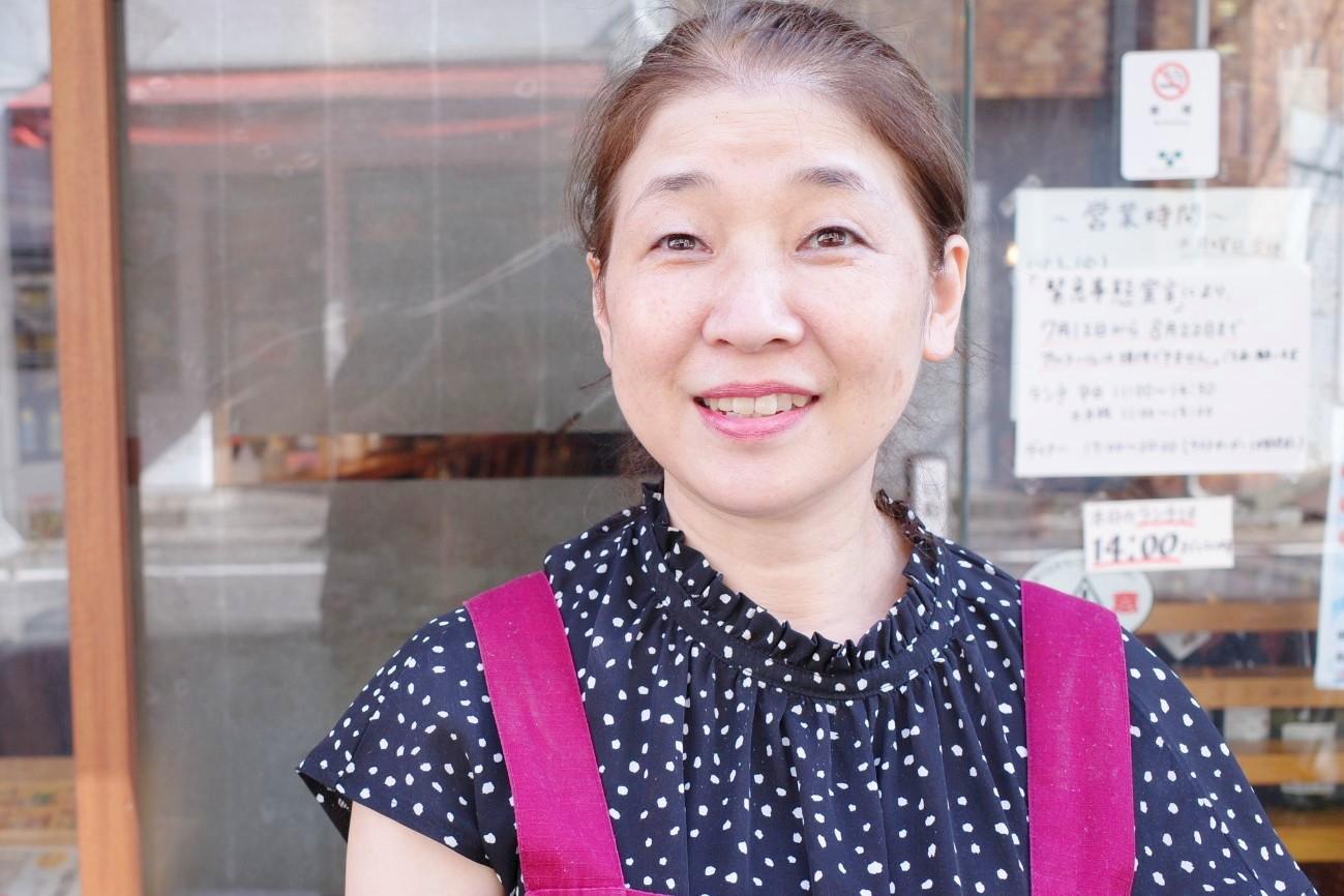 『AIDA』の女将・間宮ゆみ子さん。