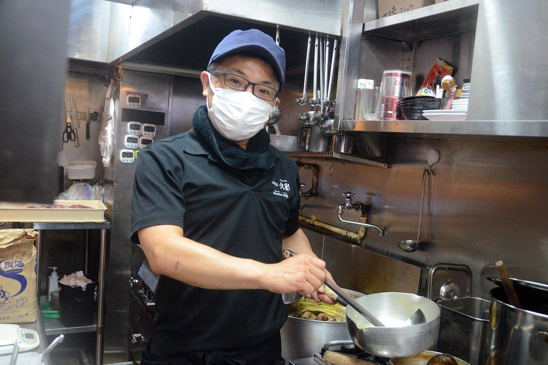 お話を伺った店長の安田貴則さん。川崎ラゾーナから大井町に移転した際は客層の変化には敏感だった様子。