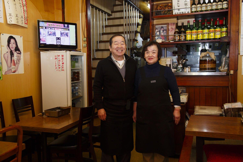 大川夫妻。