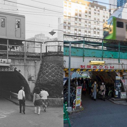 【山手線駅前タイムスリップ】1984年と現在、街の風景を見比べてみた /文・写真=善本喜一郎