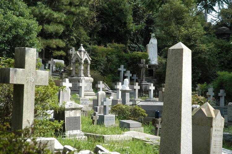 横浜外国人墓地(よこはまがいこくじんぼち)