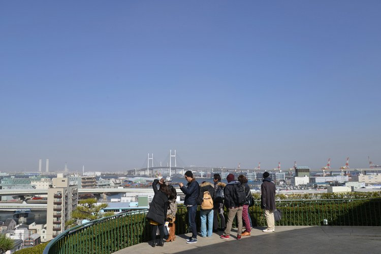 港の見える丘公園 (みなとのみえるおかこうえん)