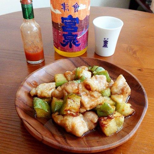トロ茄子とレモン酢鶏のタバスコ風味に「宮泉 アッサンブラージュ」 〜多様な酒を楽しむ現代の日本酒蔵の蔵元が造る新しい日本...