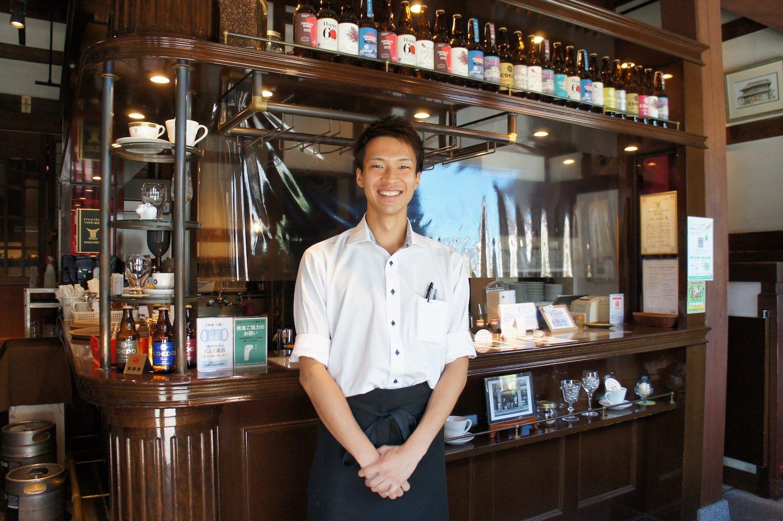 生まれも育ちも川越という、スタッフ石井陽登さん。スタッフはこの街のことが好きな人ばかり。