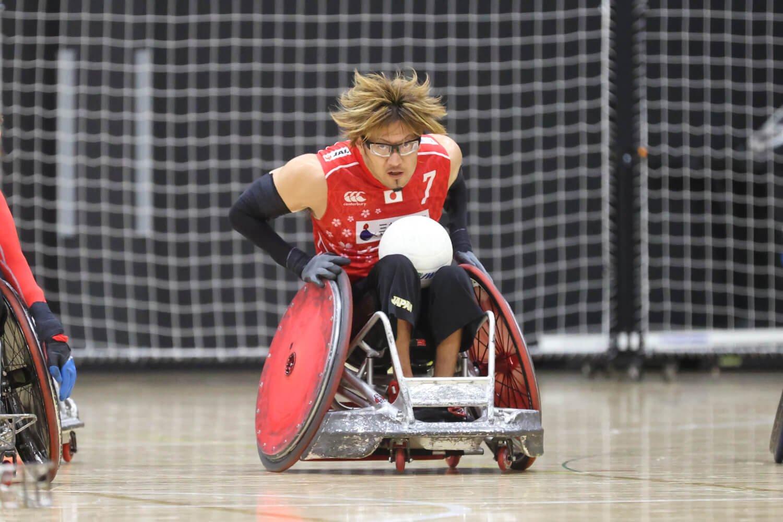 日本代表エースの池崎大輔選手のクラスは3.0。