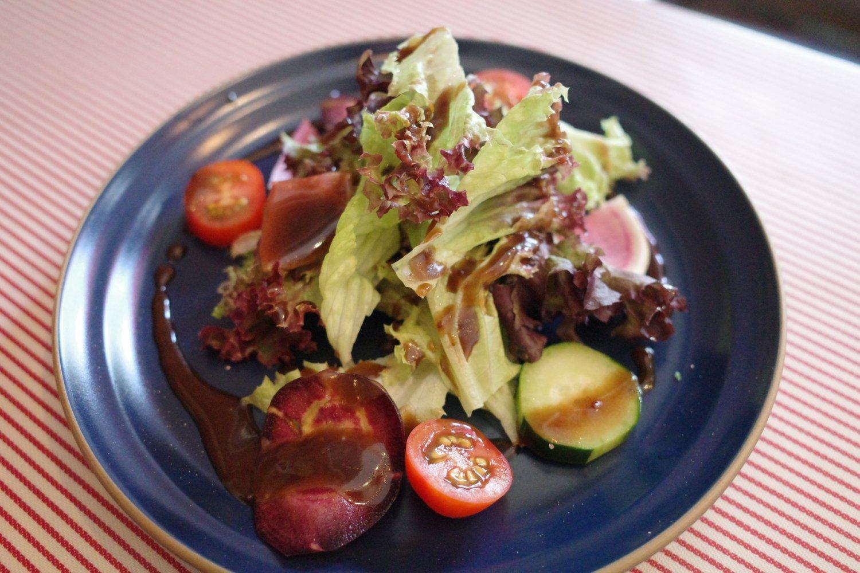 サラダは野菜の味が濃い!