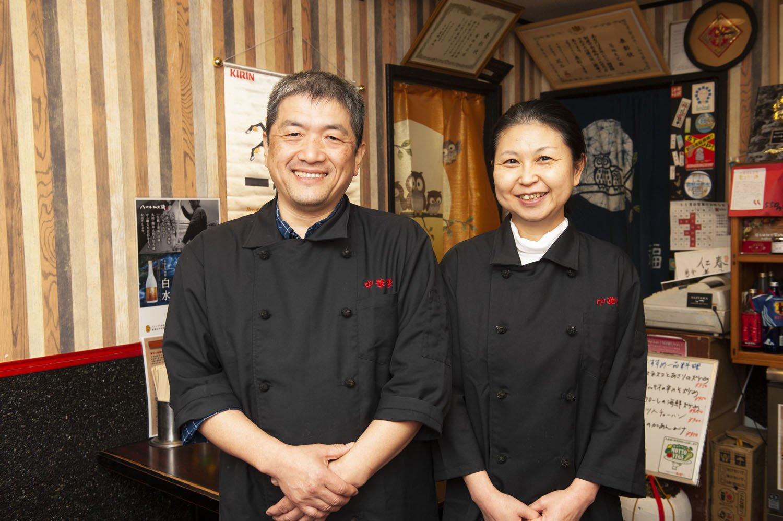 菊地さん夫妻。
