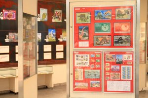 ぶらりマンション巡り 切手の博物館