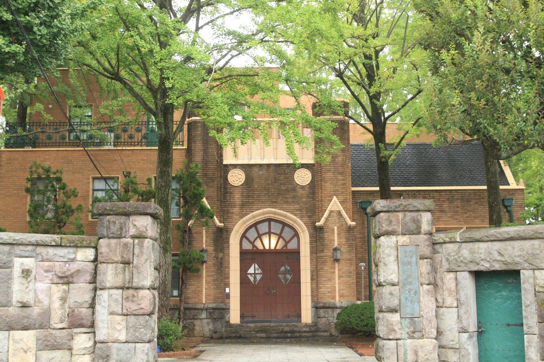 徳川ビレッジの一角には、尾張徳川家に歴代伝えられた美術品などを研究・保存する徳川黎明会の建物も。一般公開しておらず立ち入り禁止。