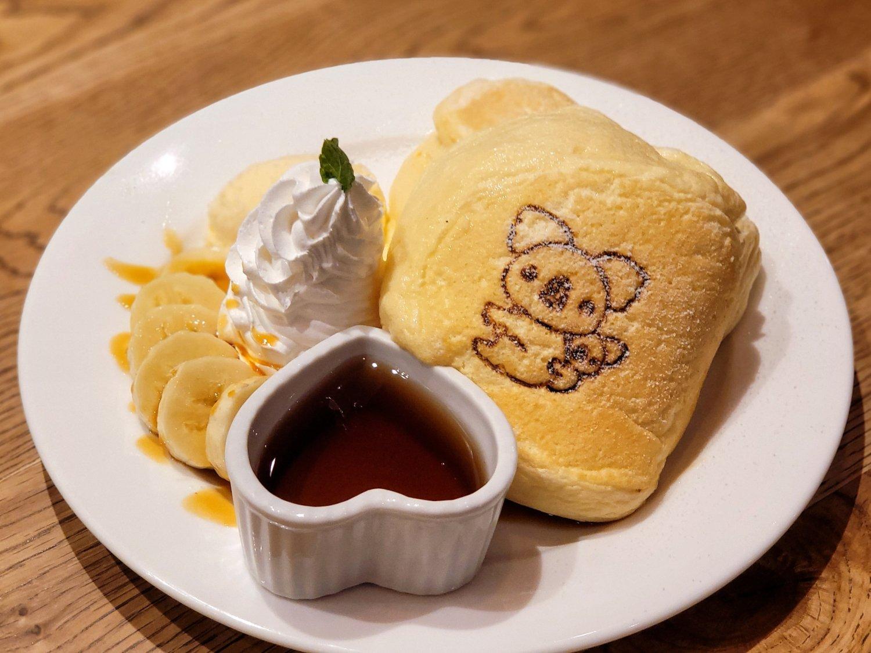 オリジナルパンケーキ 1320円。