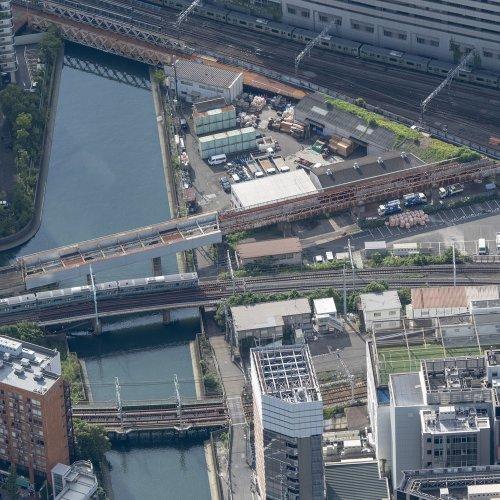 【後編】空撮で見る、横浜の臨港線廃線跡と海上築堤。