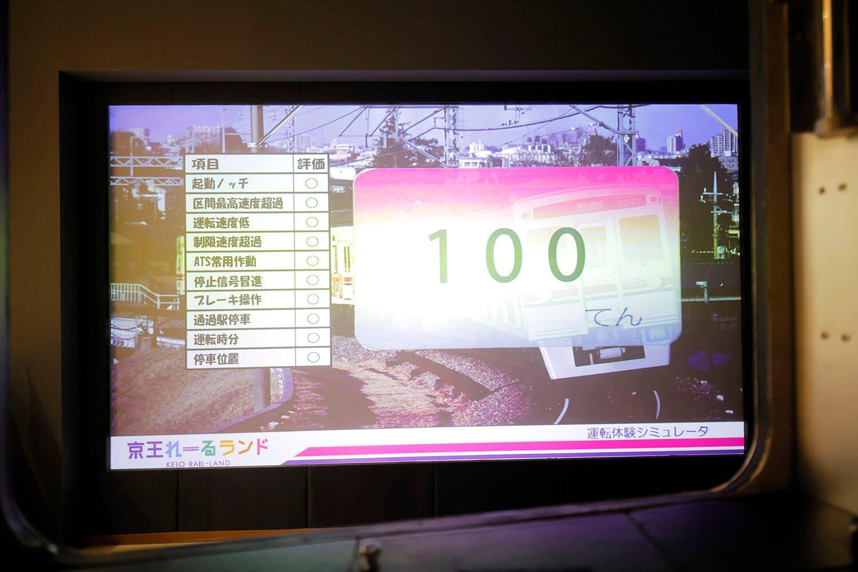 鈴木さん、ありがとうございます! 100点出ました!
