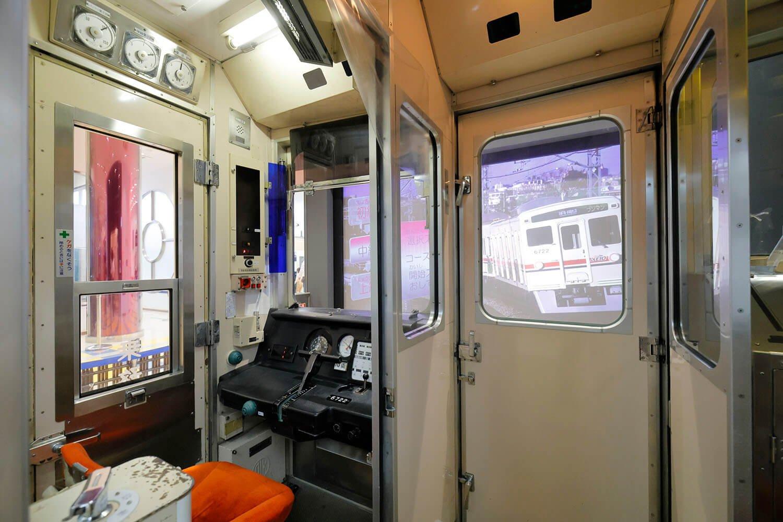 京王電鉄のスマートな乗務員室が子どものころから大好きでした!