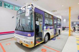 京王れーるランド超低床小型バス日産ディーゼルRN210CSN