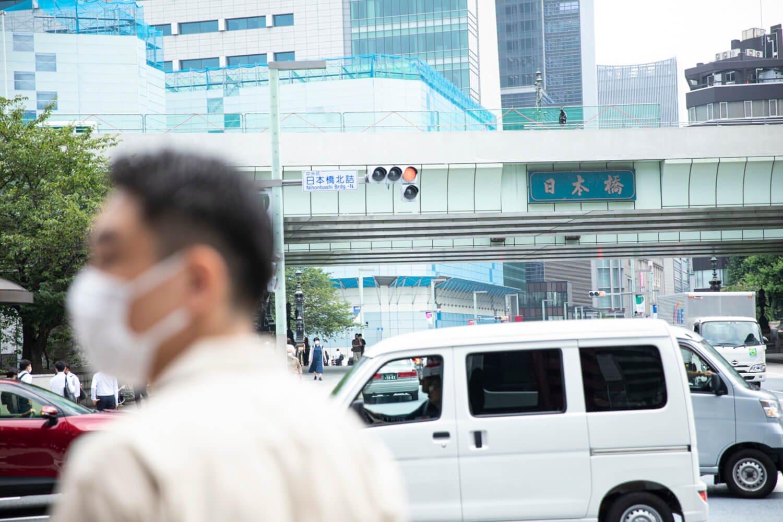 『都電物語』の設定の頃は、もう日本橋に高速道路が架かってます。あれがなかったらなぁ。