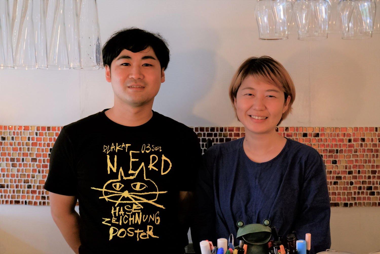 オーナーの安藤耕史さん・祐理子さんご夫妻。