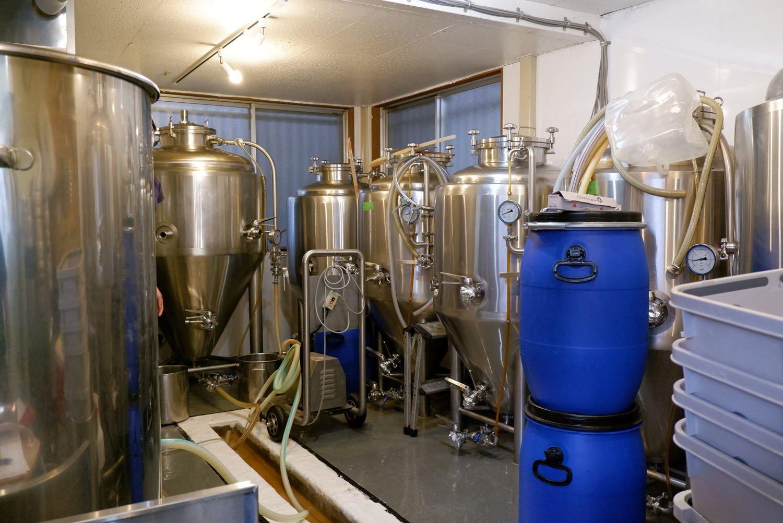 高円寺のビール工場。