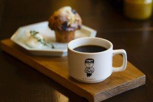 本とコーヒー tegamisha2