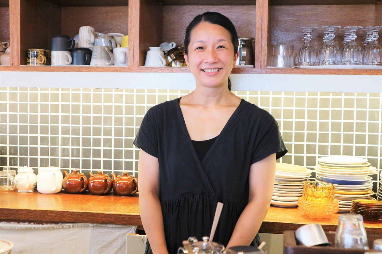 店主の吉田さんは、学校を卒業後、カフェやレストラン、パン屋などの飲食業に長年携わってきた。