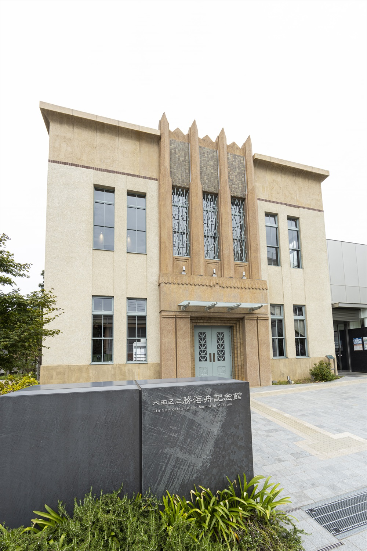 「清明文庫」の着工の際には、財団法人清明会の顧問であった渋沢栄一も視察に訪れた。