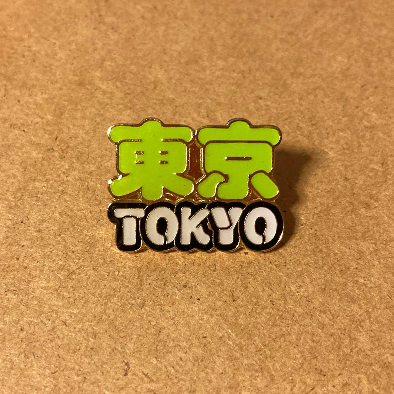 「東京」を前面に押し出したピンバッジ。使い方に迷う一品である