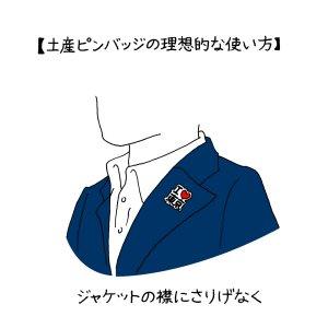 日本いかにも土産物考~ピンバッジ編~