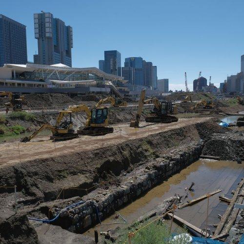 高輪築堤を地上から見てみた。9月の見学会レポート3部作~前編